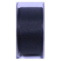 """Seam Binding Tape - 25mm (1"""") - Navy (196)"""