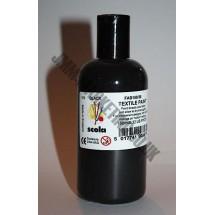 Scolart Fabric Paint 150ml - Black