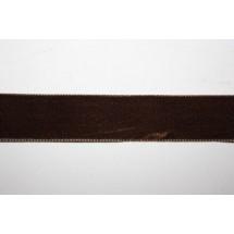"""Velvet Ribbon 22/25mm (1"""") - Brown"""