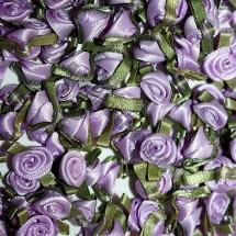 Ribbon Roses - Small - Lilac