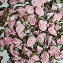 Ribbon Roses - Small - Pink