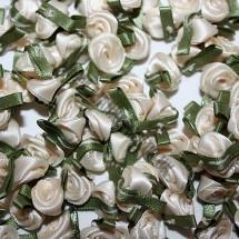 Ribbon Roses - Small - Cream