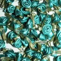 Ribbon Roses - Small - Jade