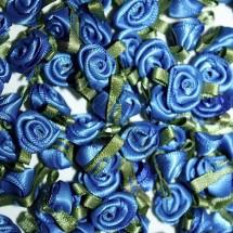 Ribbon Roses - Large - Blue