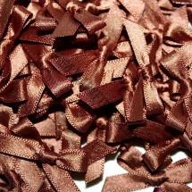Small Ribbon Bow - Brown