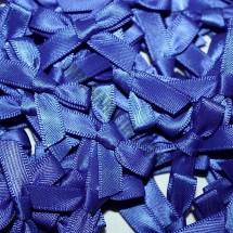 Small Ribbon Bow - Royal Blue