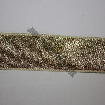 "Lurex Ribbon 25mm (1"") - Gold"