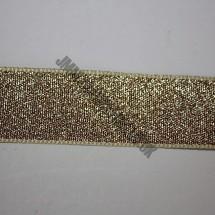 "Lurex Ribbon 25mm (1"") - Gold - Roll Price"