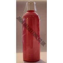 Scolart Pearlescent Fabric Paint 500ml - Red