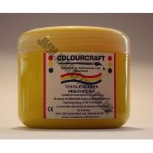 Colourcraft Screen Printing Ink 500ml - Yellow