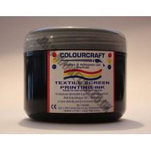 Colourcraft Screen Printing Ink 500ml - Black