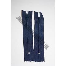 """Nylon Zips 5"""" (13cm) - Navy"""