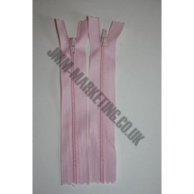 """Nylon Zips 22"""" (56cm) - Light Pink"""