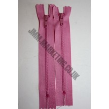 "Nylon Zips 22"" (56cm) - Dusky Pink"
