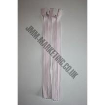 "Optilon Concealed Zips 12"" (30cm) - Baby Pink"