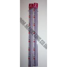 "Optilon Concealed Zips 12"" (30cm) - Lilac"