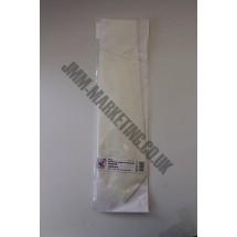 Silk Tie - White - Habotai 8