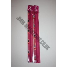 "Optilon Concealed Zips 20"" (51cm) - Cerise"