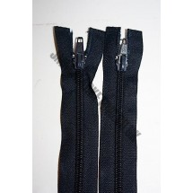 "Open Ended Zips 12"" (30cm) - Navy"