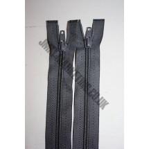 """Open Ended Zips 26"""" (66cm) - Dark Grey"""