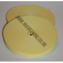 "Bias Binding 1/2"" (12mm) - Pale Yellow (Lemon)"