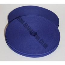 """Bias Binding 1/2"""" (12mm) - Royal Blue - Roll"""