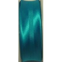 "Satin Bias 3/4"" - Deep Turquoise - 25m Roll (659)"