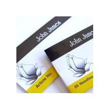 John James Carpet Sharps Size 17