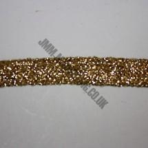 "Braid Ribbon 6mm (1/4"") - Gold"