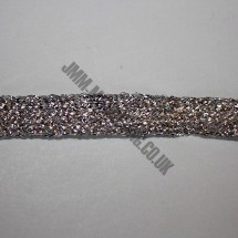 "Braid Ribbon 12mm (1/2"")  - Silver"