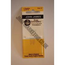 John James (short) Beading 12
