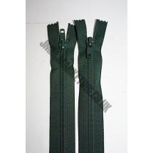 "Open Ended Zips 22"" (56cm) - Bottle Green"