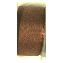 "Seam Binding Tape - 12mm (1/2"") - Brown (122)"