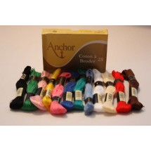 Anchor Cotton a Broder - Assorted Pack - No colour choice.