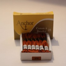 Anchor Cotton a Broder - Brown (370)
