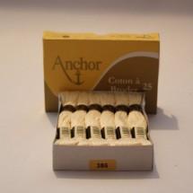 Anchor Cotton a Broder - Cream (386)