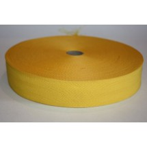 """Polyester Webbing 1 1/2"""" (37MM) - Yellow - Roll Price"""