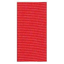 """Grosgrain 25mm 1"""" - Red (582) - Roll Price"""