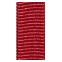 """Grosgrain 25mm 1"""" - Red (584) - Roll Price"""