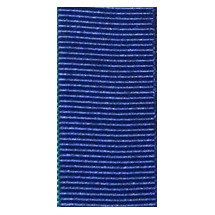 "Grosgrain 25mm 1"" - Royal Blue (623) - Roll Price"