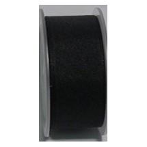 "Seam Binding Tape - 25mm (1"") - Black (700) 25m Roll"