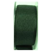 "Seam Binding Tape - 12mm (1/2"") - Bottle Green (220) 25m Roll"