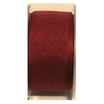 "Seam Binding Tape - 25mm (1"") - Burgundy (148) 25m Roll"