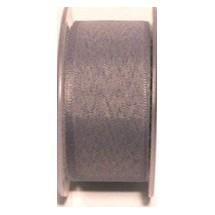 "Seam Binding Tape - 12mm (1/2"") - Light Grey (227) 25m Roll"