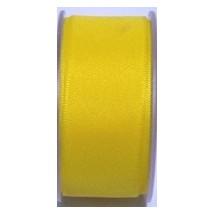 """Seam Binding Tape - 25mm (1"""") - Yellow (169) 25m Roll"""