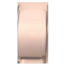"""Seam Binding Tape - 25mm (1"""") - White (501) 25m Roll"""