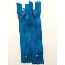 """Nylon Zips 9"""" - Turquoise"""