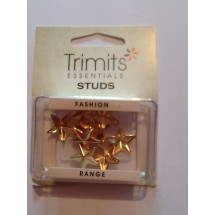 Star Claws Studs - Gold 16mm