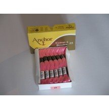 Anchor Cotton a Broder - Pink (25)