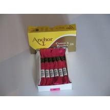 Anchor Cotton a Broder - Cerise (57)